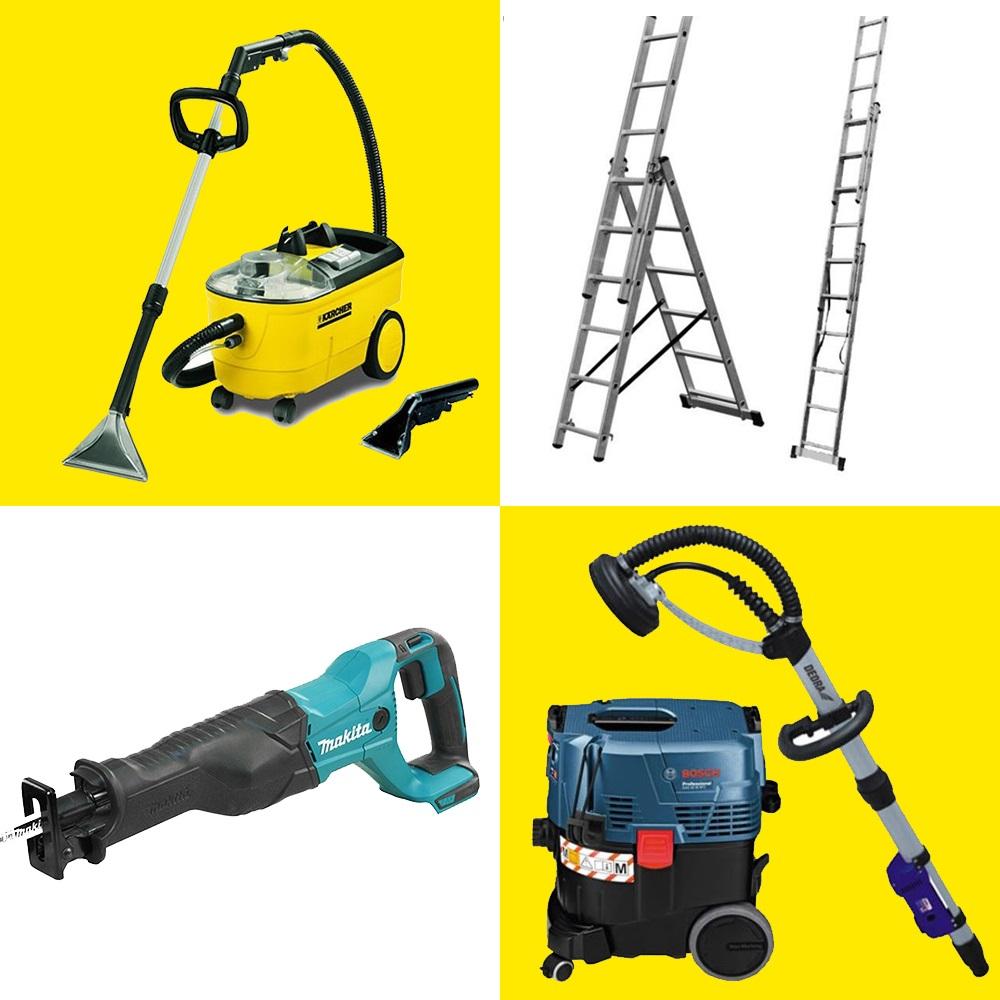 Egyéb bérelhető, kölcsönözhető eszközök és gépek